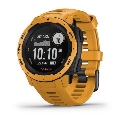 Monitor Cardíaco de Pulso Robusto com GPS Garmin Instinct
