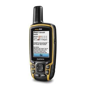 """GPS Portátil Garmin GPSMAP 64 GPS/GLONASS Robusto com Tela Colorida de 2,6"""", com Antena Helix Quádrupla"""