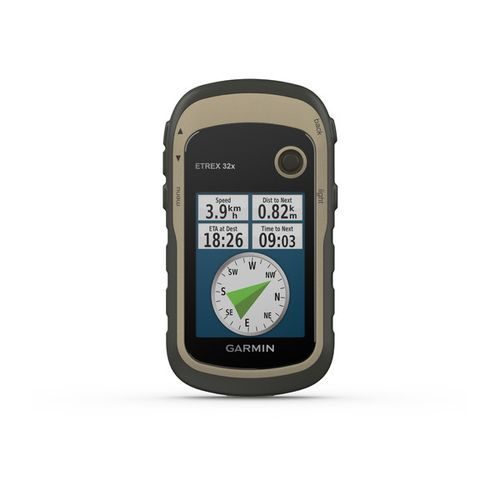 GPS Portátil Garmin eTrex 32x GPS/GLONASS com Mapa TopoActive América do Sul, 8GB Memória Interna, Bússola de 3 Eixos, Altímetro e Barômetro
