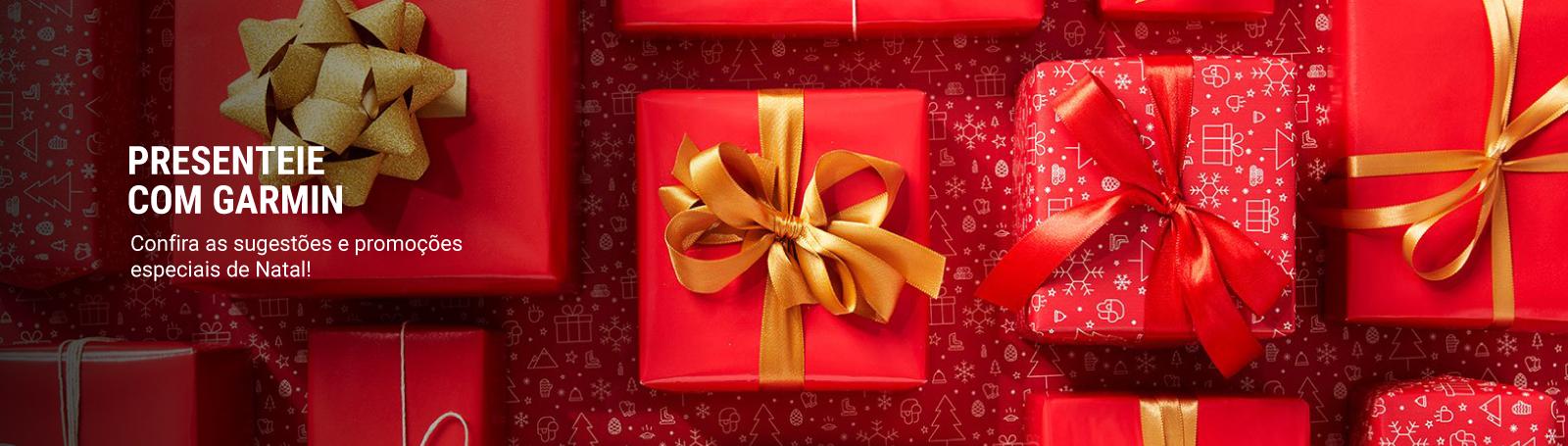 Presenteie com Garmin neste Natal